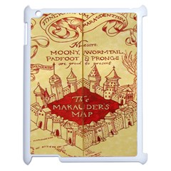 Marauders Map Apple Ipad 2 Case (white)