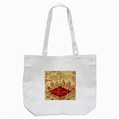 Marauders Map Tote Bag (white)