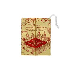 Marauders Map Drawstring Pouches (xs)
