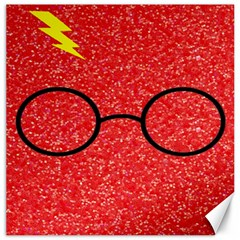 Glasses And Lightning Glitter Canvas 20  X 20   by Samandel