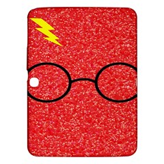 Glasses And Lightning Glitter Samsung Galaxy Tab 3 (10 1 ) P5200 Hardshell Case