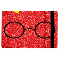 Glasses And Lightning Glitter Ipad Air Flip by Samandel