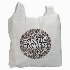 Artic Monkeys Flower Circle Recycle Bag (two Side)  by Samandel