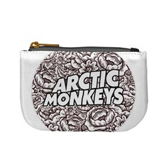 Artic Monkeys Flower Circle Mini Coin Purses