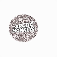 Artic Monkeys Flower Circle Large Garden Flag (two Sides)