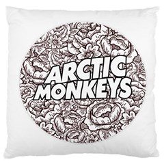 Artic Monkeys Flower Circle Large Cushion Case (two Sides) by Samandel