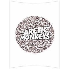 Artic Monkeys Flower Circle Back Support Cushion