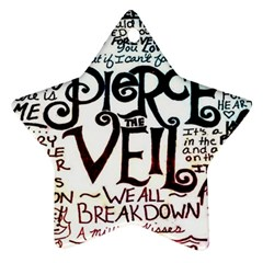 Pierce The Veil Galaxy Ornament (star)