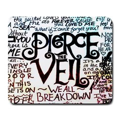 Pierce The Veil Galaxy Large Mousepads by Samandel