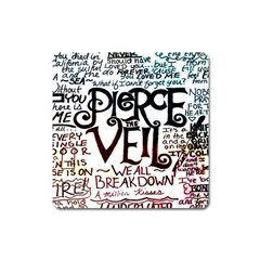 Pierce The Veil Galaxy Square Magnet