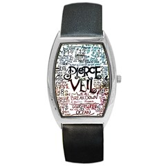 Pierce The Veil Galaxy Barrel Style Metal Watch by Samandel