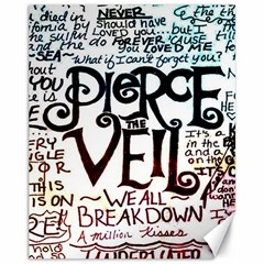 Pierce The Veil Galaxy Canvas 11  X 14