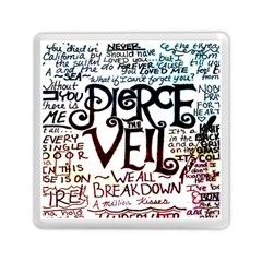 Pierce The Veil Galaxy Memory Card Reader (square)  by Samandel
