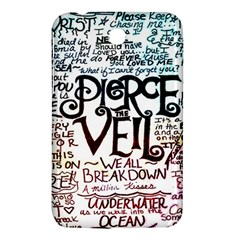 Pierce The Veil Galaxy Samsung Galaxy Tab 3 (7 ) P3200 Hardshell Case  by Samandel