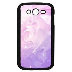 Beautiful Rose, Soft Violet Colors Samsung Galaxy Grand Duos I9082 Case (black) by FantasyWorld7