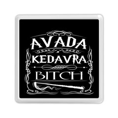 Avada Kedavra Bitch Memory Card Reader (square)