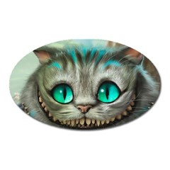 Cheshire Cat Oval Magnet