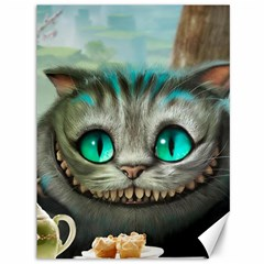 Cheshire Cat Canvas 36  X 48