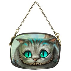 Cheshire Cat Chain Purses (two Sides)  by Samandel