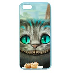 Cheshire Cat Apple Seamless Iphone 5 Case (color) by Samandel