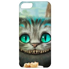 Cheshire Cat Apple Iphone 5 Classic Hardshell Case by Samandel