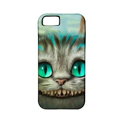 Cheshire Cat Apple Iphone 5 Classic Hardshell Case (pc+silicone) by Samandel