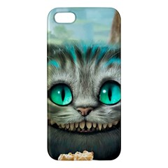 Cheshire Cat Iphone 5s/ Se Premium Hardshell Case by Samandel