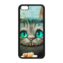 Cheshire Cat Apple Iphone 5c Seamless Case (black) by Samandel
