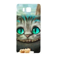 Cheshire Cat Samsung Galaxy Alpha Hardshell Back Case