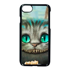 Cheshire Cat Apple Iphone 8 Seamless Case (black) by Samandel