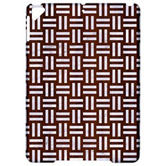 Woven1 White Marble & Reddish Brown Wood Apple Ipad Pro 9 7   Hardshell Case by trendistuff