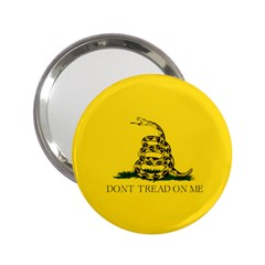 Gadsden Flag Don t Tread On Me 2 25  Handbag Mirrors by MAGA
