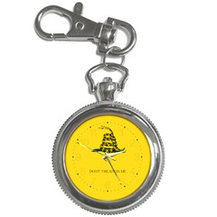 Gadsden Flag Don t Tread On Me Key Chain Watches by MAGA