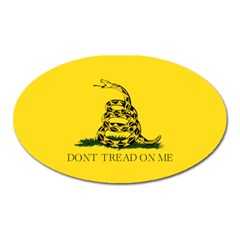 Gadsden Flag Don t Tread On Me Oval Magnet