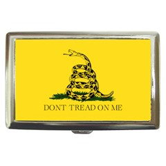 Gadsden Flag Don t Tread On Me Cigarette Money Cases by snek