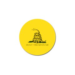 Gadsden Flag Don t Tread On Me Golf Ball Marker (4 Pack) by snek