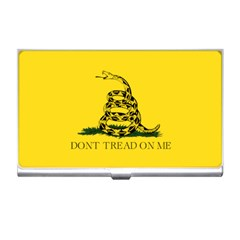 Gadsden Flag Don t Tread On Me Business Card Holders by MAGA