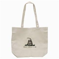 Gadsden Flag Don t Tread On Me Tote Bag (cream) by snek