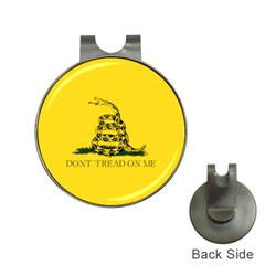 Gadsden Flag Don t Tread On Me Hat Clips With Golf Markers by snek