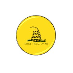 Gadsden Flag Don t Tread On Me Hat Clip Ball Marker (4 Pack) by snek
