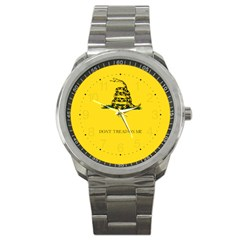 Gadsden Flag Don t Tread On Me Sport Metal Watch by snek