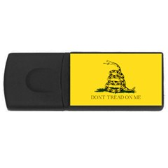 Gadsden Flag Don t Tread On Me Rectangular Usb Flash Drive by MAGA
