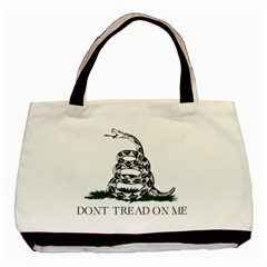 Gadsden Flag Don t Tread On Me Basic Tote Bag by snek