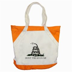Gadsden Flag Don t Tread On Me Accent Tote Bag by snek