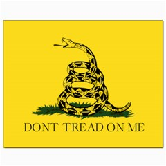 Gadsden Flag Don t Tread On Me Canvas 8  X 10  by MAGA