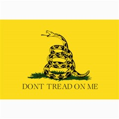 Gadsden Flag Don t Tread On Me Canvas 12  X 18   by MAGA
