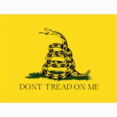 Gadsden Flag Don t Tread On Me Canvas 36  X 48   by snek
