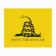 Gadsden Flag Don t Tread On Me Small Glasses Cloth (2 Side) by MAGA