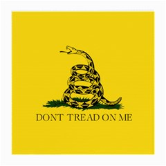 Gadsden Flag Don t Tread On Me Medium Glasses Cloth (2 Side) by MAGA