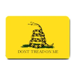 Gadsden Flag Don t Tread On Me Small Doormat  by snek
